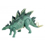 Figurina Jurassic World Action Attack Dinozaur Stegosaurus coada flexibila