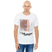 【73%OFF】SS TRR SKULL プリント クルーネック 半袖Tシャツ オプティックホワイト s ファッション > メンズウエア~~その他トップス