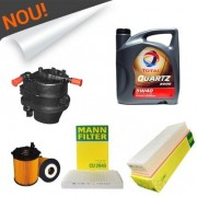 Pachet Revizie Peugeot 307 1.6 Hdi (ulei+filtre)