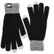 Gebreide handschoenen - zwart - L/XL - Zwart