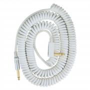 Vox Vintage Cable en espiral Blanco 9m