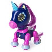 Jucarie interactiva Zoomer Zupps Unicorn cu lumini si sunete - Midnight
