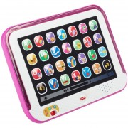 Tablet rie y aprende conmigo Fisher price CHD90, color rosado
