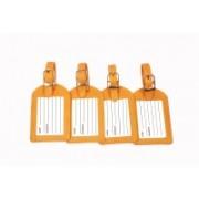 Sukeshcraft currecny Luggage Tag(Yellow)