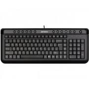 A4 TECH KL-40 X-Slim USB US crna tastatura