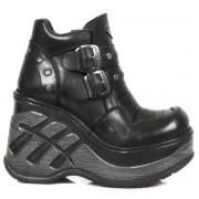 bottes en cuir pour femmes - NEW ROCK - M.SP9814-S1