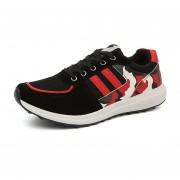 Malla Transpirable Zapatos De Los Deportes Calzado Deportivo Forrest Gump Zapatos Para Correr- Rojo