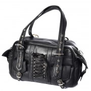 kabelka (taška) POIZEN INDUSTRIES - BECCA - BLACK - POI267
