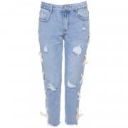 Jeans Boyfriend Lace Up - Jeans