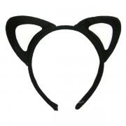 Urechi pisica negru cu alb