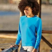Fruit of the Loom Lady-Fit Light Raglan Sweat * Fri Frakt *