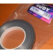 Hudy 107870 Black Strapping Tape 50m reel (Strong adhesion)