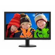 "MONITOR PHILIPS 23.6"" LED, 1920x1080, 8ms, 250cd/mp, VGA+DVI-D 243V5QSBA/00"