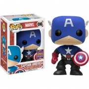 Funko Pop Captain America Summer Convention Sdcc Capitan