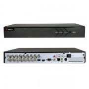 DVR 16 CANALI IBRIDO 5 IN 1 TURBO HD 4MEGAPIXEL A 12FPS HTVR61-VISHTVR6116-HEVC