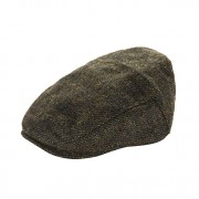 Heritage Traditions Womens Men Classic Tweed Flat Cap Hat