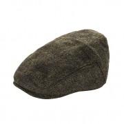 Heritage Traditions Womens Men Classic Tweed Flat Cap Hat