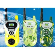 king's store Kids walkie talkie,Children intercom game,My father and mother and child back game,Mom and dad and the children's game