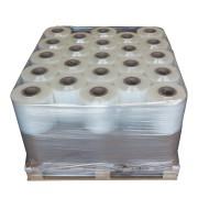 23 bobinas de film extensible estirable automático transparente (1/2 palet)