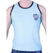 Good Boy Gone Bad VI9 Rigis Mesh Muscle Tank Top T Shirt Light Blue