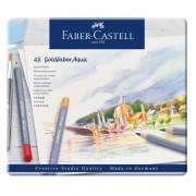 Creioane colorate acuarela Goldfaber 48 culori, Faber-Castell