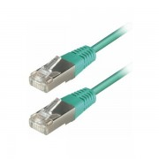 Transmedia S-FTP Cat5E Patch Kabel (RJ45), Green 1m TRN-TI7-1EGRL