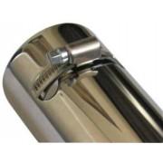 EMBOUT D'ECHAPPEMENT CHROME FIAT SEDICI (l'unité) - accessoires 4X4 MISUTONIDA