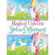 Magical Unicorn Spot the Differences, Paperback/Sam Loman