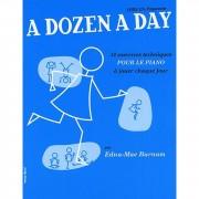 Editions Musicales Francaises - A Dozen A Day: Livre 1 Preparatoire, French, Piano