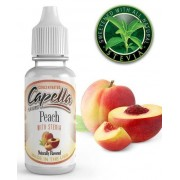 Capella Peach with Stevia (Sweet Peach) 10ml Concentrated Flavor for Eliquid Self Mixing