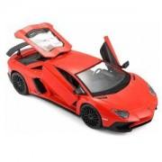 Детска количка, Bburago Plus - Модел на кола 1:24 - Lamborghini Aventador LP750-4 SV, 0935323