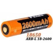 Acumulator reincarcabil - Fenix 18650 - 2600mAh - ARB-L 18-2600