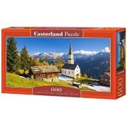 Puzzle panoramic Church Marterle, Carinthia - Austria, 600 piese