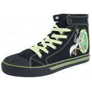 Rick And Morty Portal Herren-Sneaker high - Offizieller & Lizenzierter Fanartikel EU41, EU42, EU43, EU44, EU45, EU46 Herren