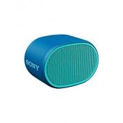 Boxa portabila, Sony, SRSXB01L.CE7, rezistenta la stropire, Extra Bass, Bluetooth, Hands Free, autonomie 6 ore, Albastru