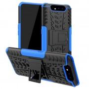 Capa Híbrida Anti-Slip para Samsung Galaxy A80 - Azul / Preto