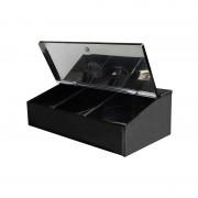 Barista Tools Кутия За Кафе 3 Позиции Черна