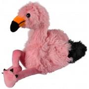 Warmies Magnetronknuffel Flamingo 20cm