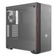 Carcasa Cooler Master MasterBox MB600L Red LED Fara sursa Neagra