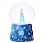 Boule À Neige Musicale En Verre : Elsa, La Reine Des Neiges (Frozen)