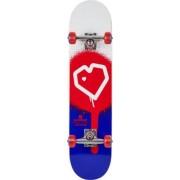 Blueprint Skateboard Complet Blueprint Spray Heart (Red/Blue)