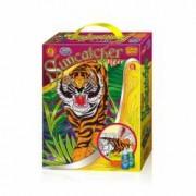 Set creatie pentru modelaj si pictura Orange Elephant Tiger
