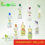 PACHET Detergenti ECOLOGICI cu TRANSPORT INCLUS
