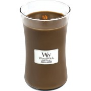 Woodwick Amber & Incense kaars groot