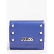 Guess Tia Miniportefeuille Studs - Blauw - Size: T/U