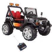 Heyplay 80-Bs618 Ride On Toy All Terrain Vehicle, 12V Battery Powered Sporty Truck with Lights, Sounds, Mp3 &Amp Remote Control