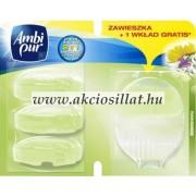 Ambi Pur Wc Frissítő Készülék + Utántöltő Fresh Gardens 4x55ml