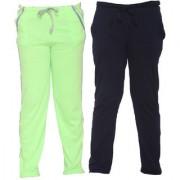Vimal-Jonney Multicolor Cotton Blended Trackpants For Boys(Pack Of 2)