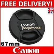 67MM SAFTEY LENS FILTER CAP FOR canon 67MM LENS MOUNT