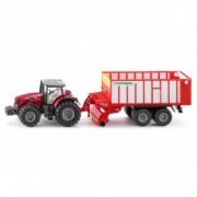 SIKU Massey Ferguson traktor sa velikom prikolicom 1987